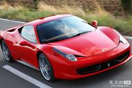 在销的法拉利458 Italia搭载4.5L 发动机,匹配AT变速箱,属于进口跑车,其品牌源自意大利。