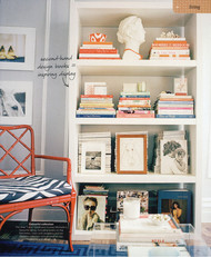 Ideas for small spaces: Stylish storage + modern zebra print from former Domino stylist