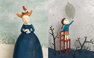 西班牙女插画家Irma Gruenholz的粘土作品,或充满梦幻色彩,或温馨明丽,但都细腻抒情。在取材上,她善于将粘土与不同材料结合,她将作品拍成高清度图片,用于图书、杂志、广告等项目。