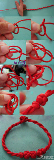 买节红绳给自己转个运吧。两股红绳手链编法是一款很简单却又有很多人喜欢的中国结红绳手链 。