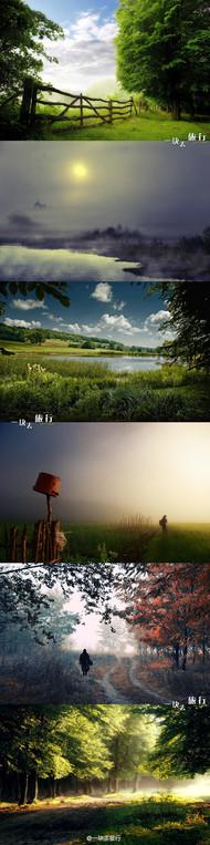 【乌克兰】朦胧的乡野。