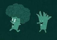 Teo Zirinis可爱童趣插画