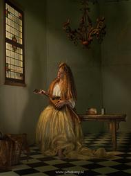 来自Peter Kemp 的一组奢华细腻的古典主义时尚摄影作品。