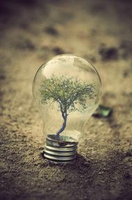 观念摄影:小灯泡 大世界1