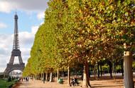 漫步在秋天的巴黎