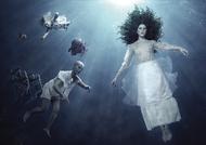 阿根廷摄影师工作室FL ATELIER拍摄的一组水下的新娘3