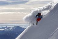 摄于瑞典高山滑雪速降比赛 作者 Dominic Ebenbichler