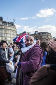 World Pillow Fight Day London 世界枕头大战之伦敦,鹅毛满天飞啊!!