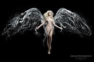 创意摄影 水色天使