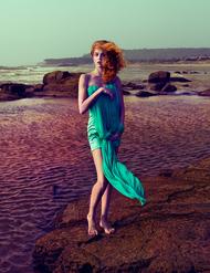基于希腊神话中海女形象的时尚摄影,来自俄罗斯摄影师Andrey Yakovlev