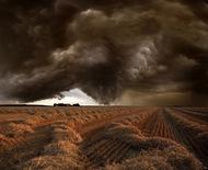 暴风雨来领前夕,61岁德国摄影师Franz Schumacher