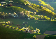 罗马利亚 布拉索夫~~位于南喀尔巴阡山脉北
